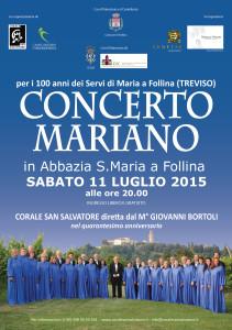Concerto Mariano Abbazia Follina