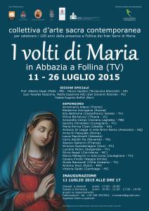 Manifesto I VOLTI DI MARIA