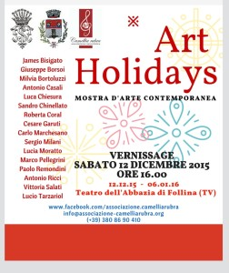 Art Holidays Mostra d'arte contemporanea